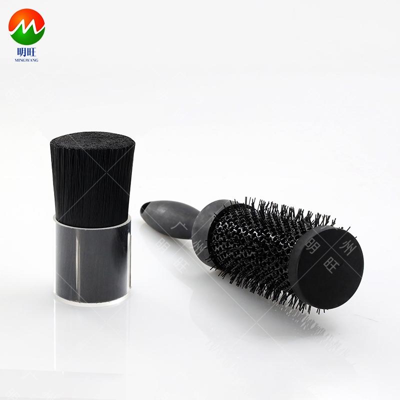 Antistatic brush filament